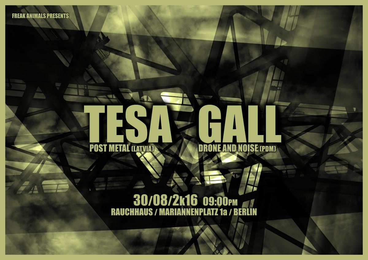 30.08.2016 - live: TESA & GALL